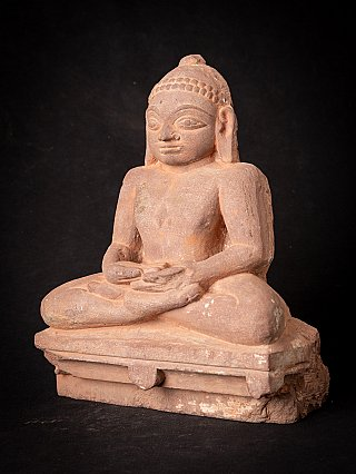 Antique Jain statue from Indian temple