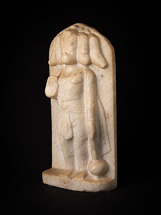 Antique marble Hanuman statue
