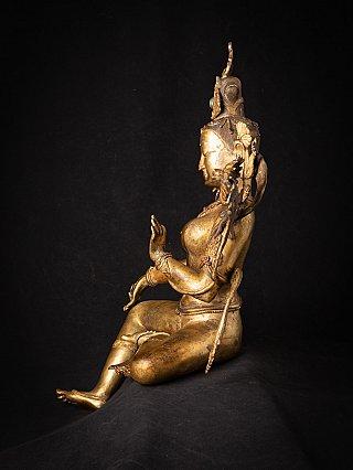 Special large old bronze Nepali Tara statue