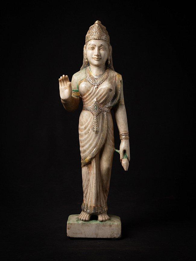 Antique marble statue of Hindu God Sita