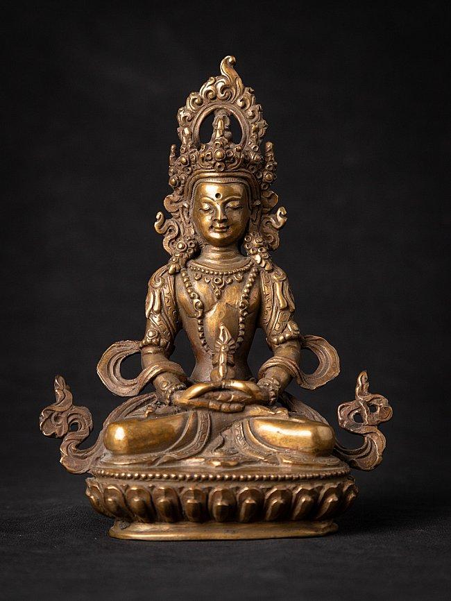 Old bronze Nepali Aparmita Buddha statue