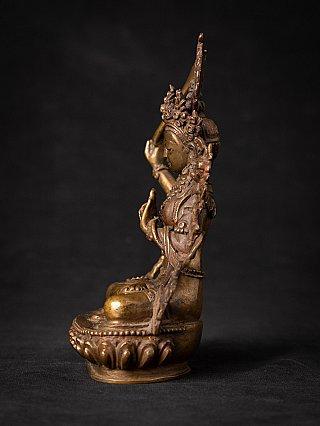 Old bronze Nepali Manjushri