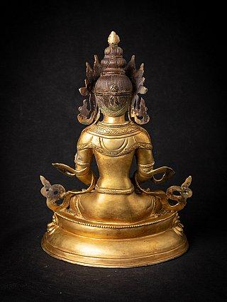 Alte bronze Nepalesische Aparmita Buddha