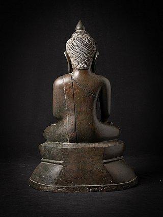 Very special bronze Burmese Buddha statue