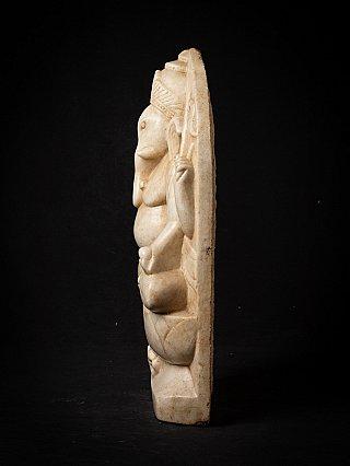 Antique marble Ganesha statue