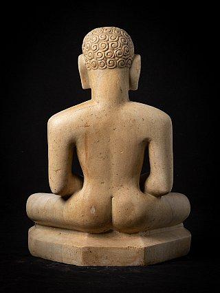Special antique marble Jain statue