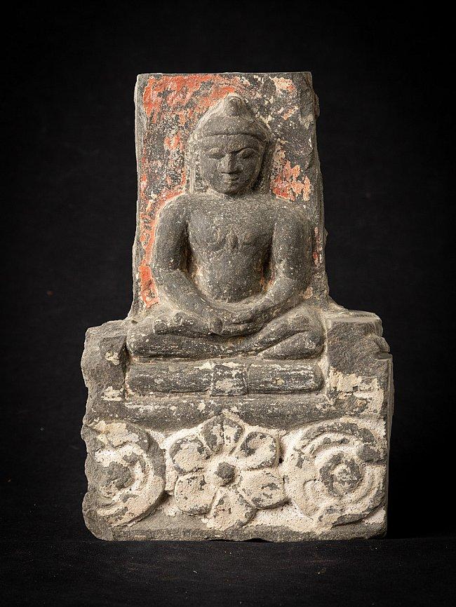 Antique stone Jain statue