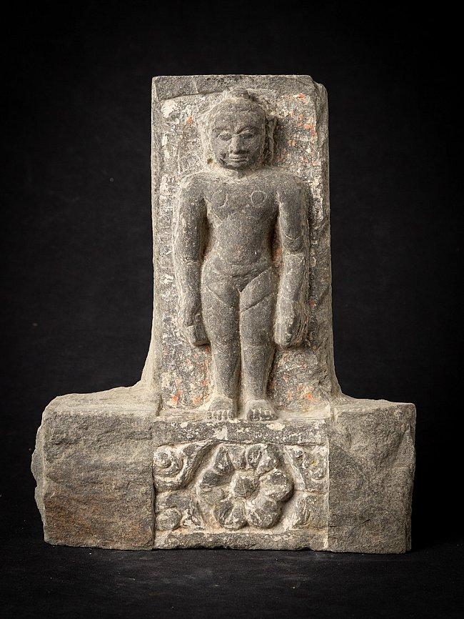 Antiek stenen Jain beeld