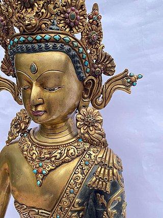 Special high quality bronze Nepali Dipankar Buddha