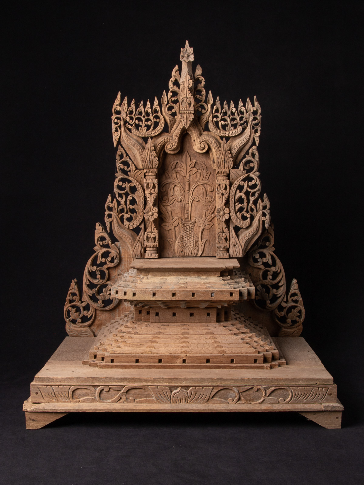Very old fragment of Vishnu statue from Burma