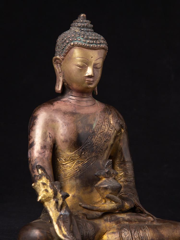 Bronze Nepalesische Medizin Buddha Figur