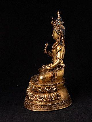 Nepalees bronzen Vajrasattva beeld