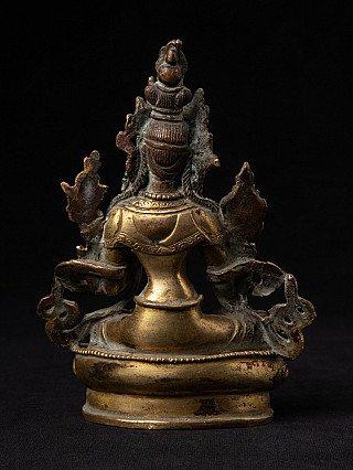 Antique Nepali White Tara statue