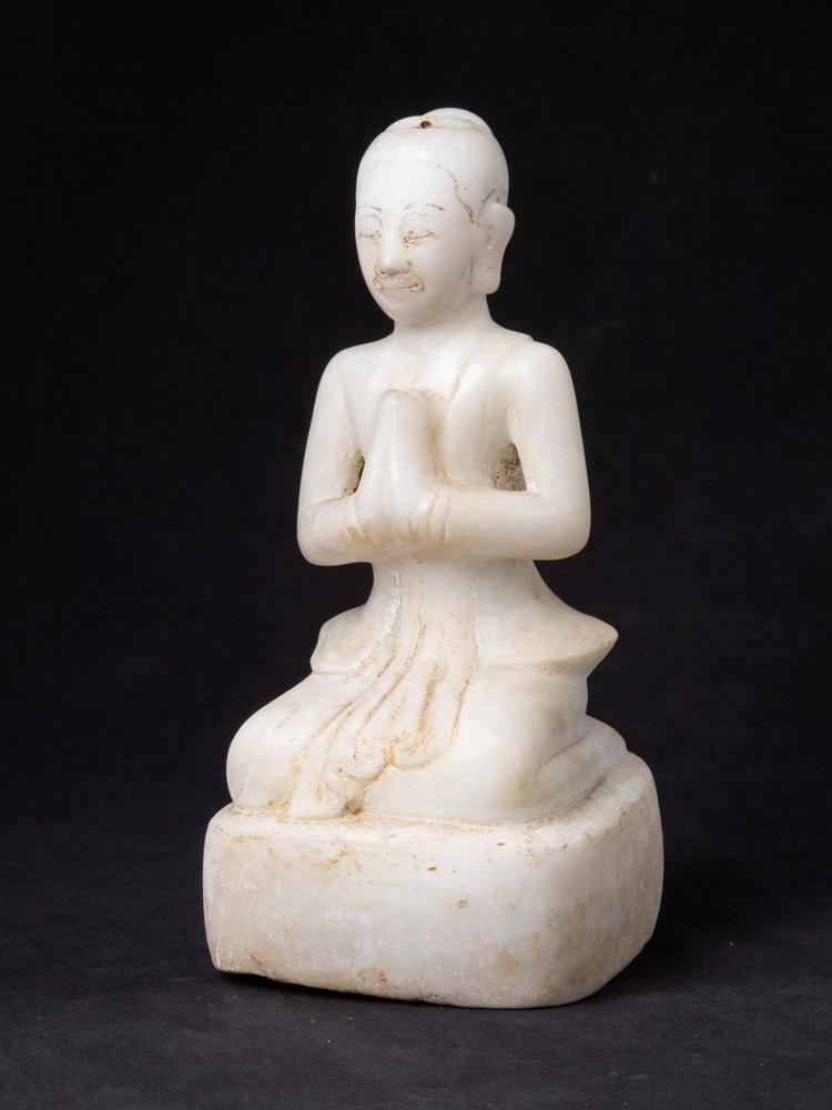 Antike Birmanische marmor Mara Figur