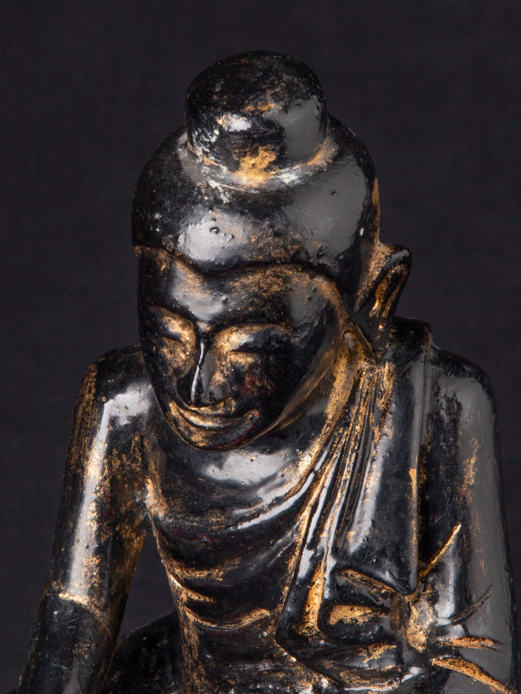 Antike Birmanische Buddha Figur