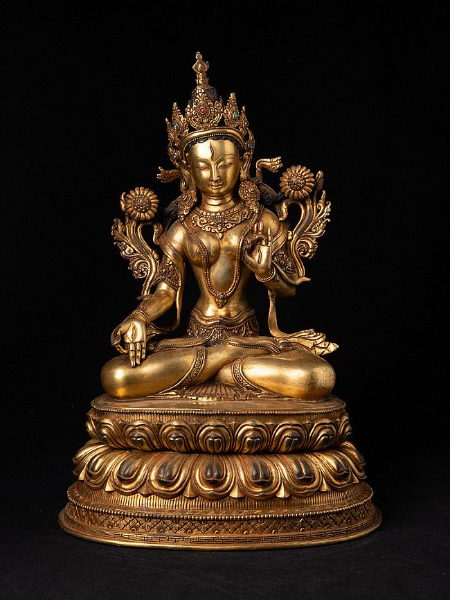 High quality Nepali White Tara statue