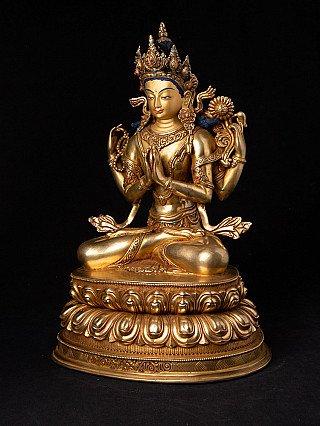 High quality Nepali Chenrezig statue