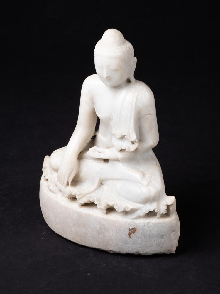 Alte marmor Mandalay Buddha Figur