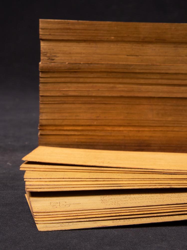 Antikes Palmblatt Manuskript Buch