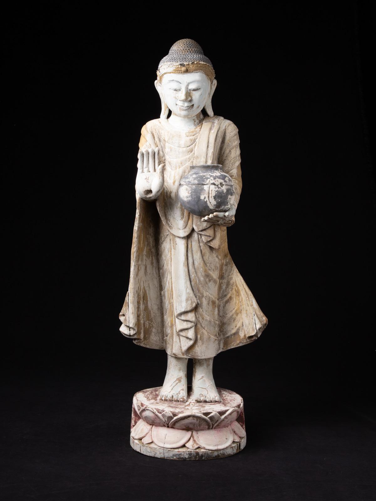 Alte Hängende Birmanische Nat Figur