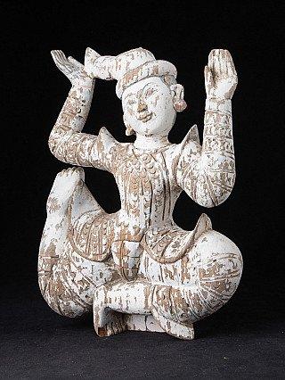 Old hanging Burmese Nat statue