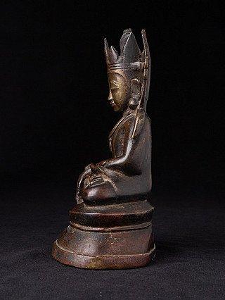Antique bronze Arakan Buddha statue