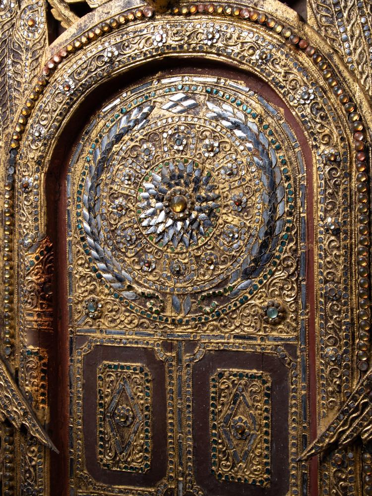Antike Tempel Panel