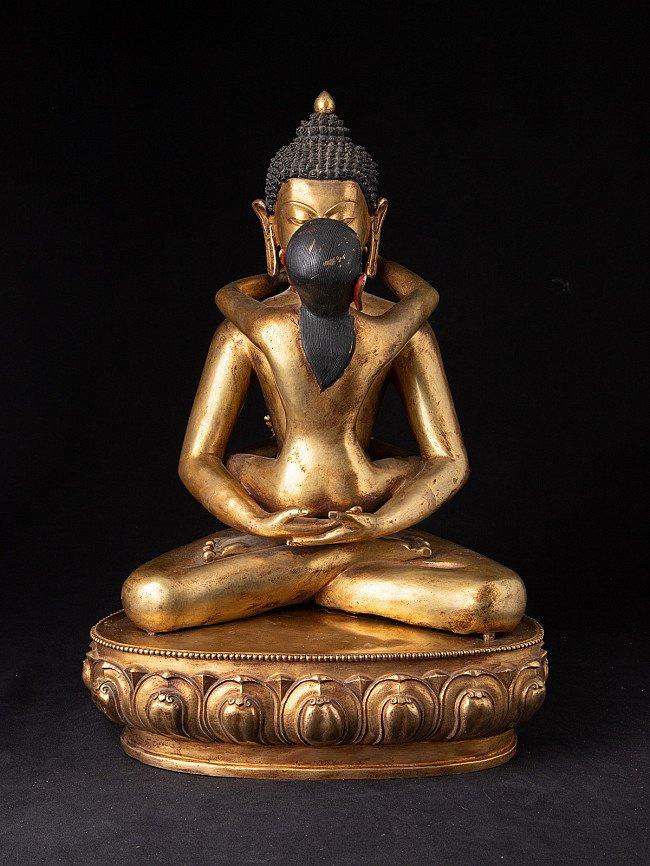 Old bronze Nepali Shakti statue