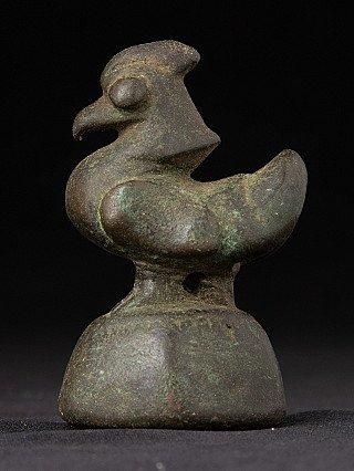 Antike Opium Gewichte Aus Burma In Bronze Antiquitäten & Kunst Bronze