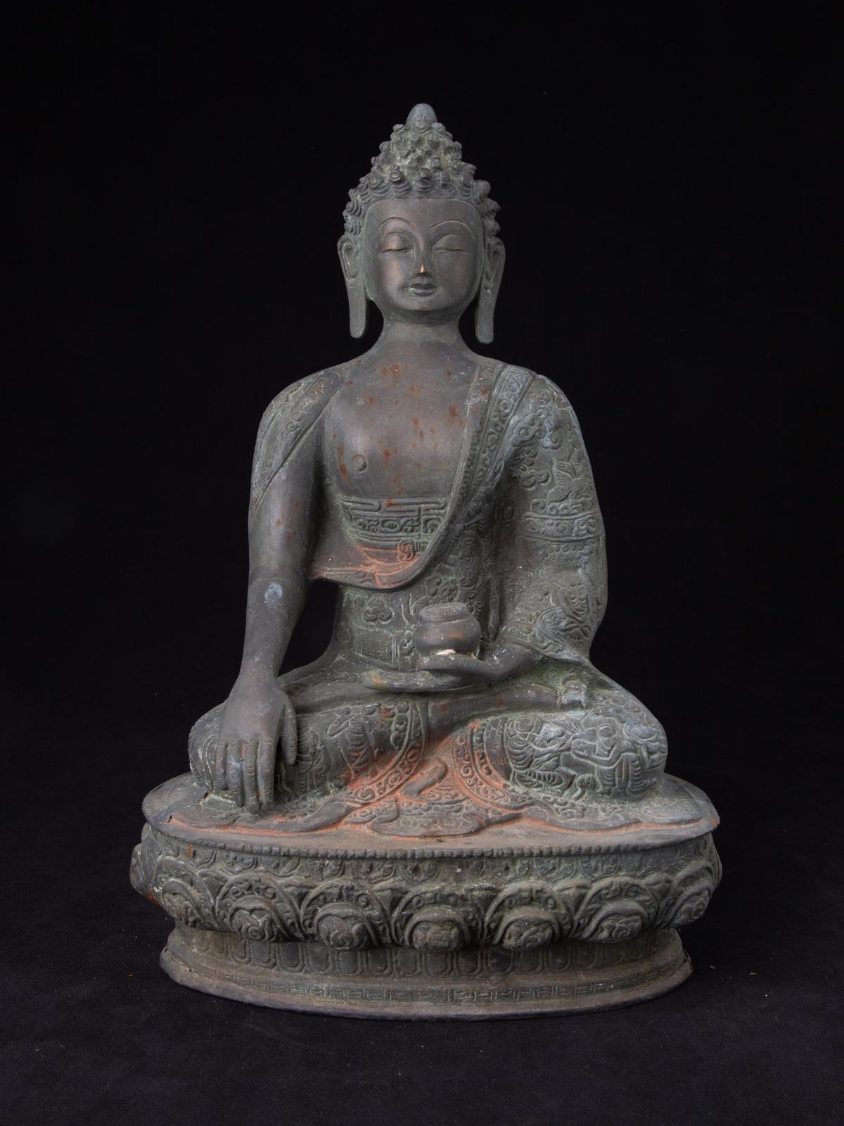 Bronze Nepalesische Buddha Figur