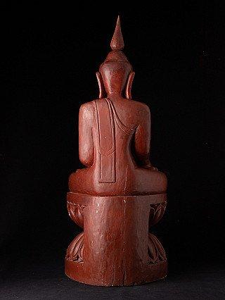 Oude zittende Boeddha