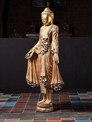 Old Burmese Mandalay Buddha statue