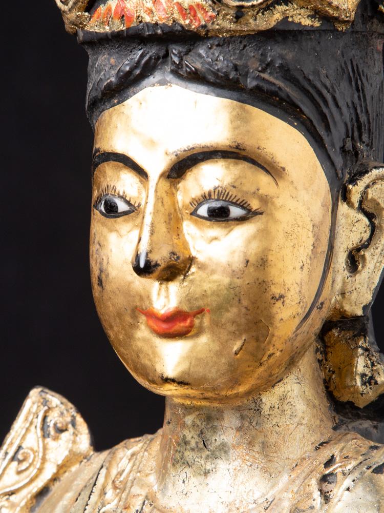 Antieke Birmese Nat