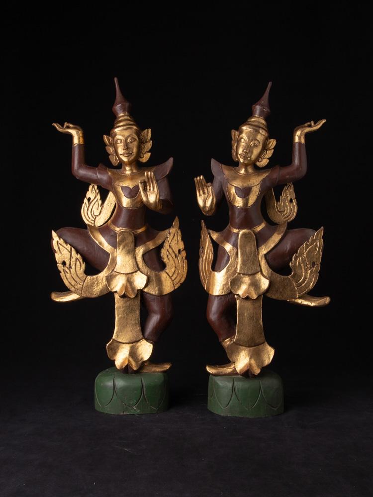 Set Birmese dansende figuren