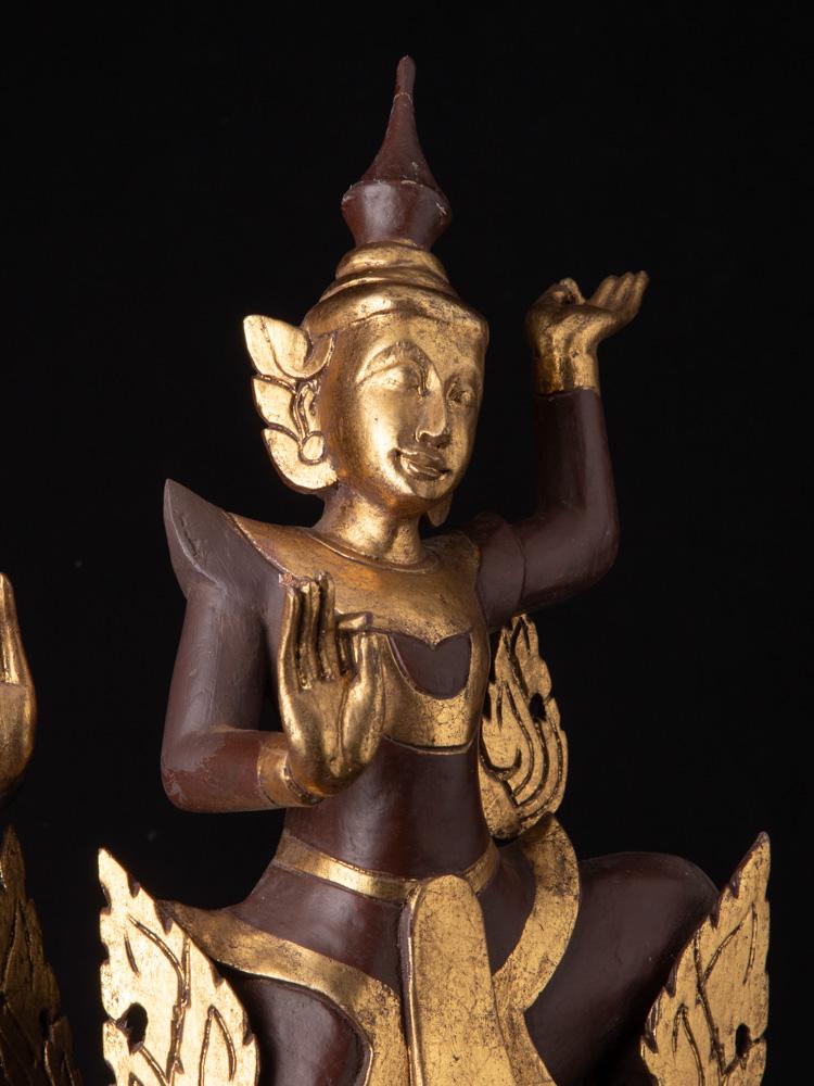 Paar burmesische Tänzer