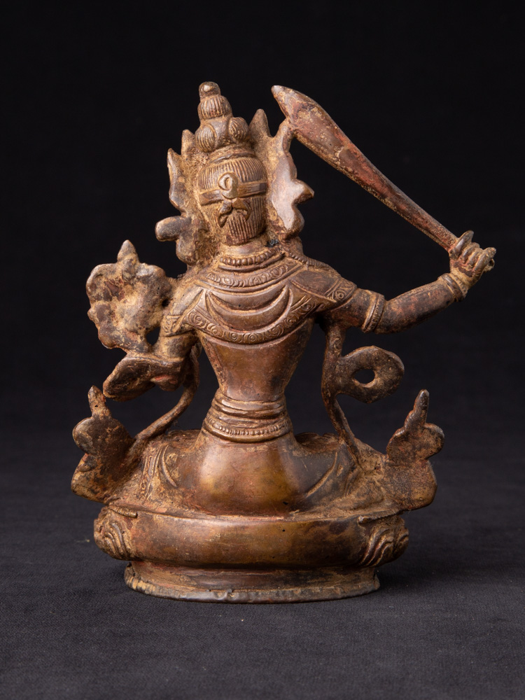 Bronze Manjushri Figur