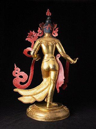 Large and high quality bronze Tara statue
