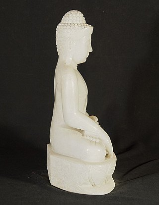 New hand carved marble Buddha statue