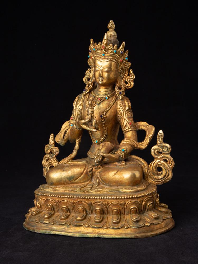 Oud bronzen Vajrasattva beeld
