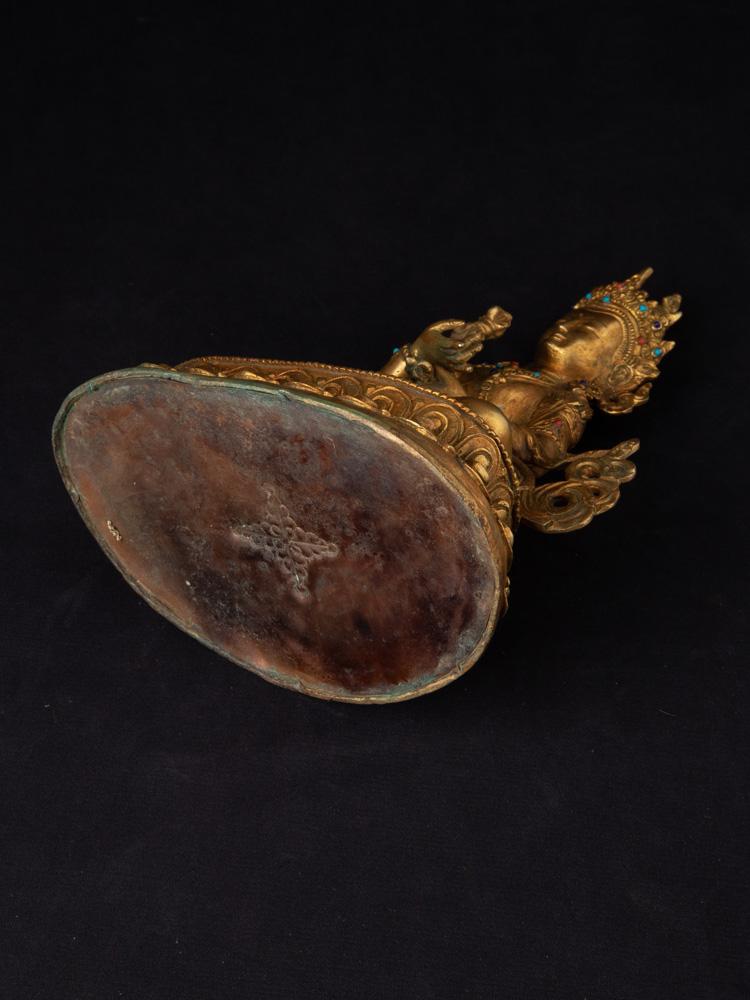 Alte bronze Vajrasattva Figur