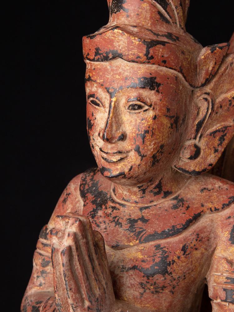 Set houten Kinnari Figuren