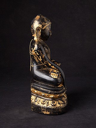 Antique Burmese Pinya Buddha statue