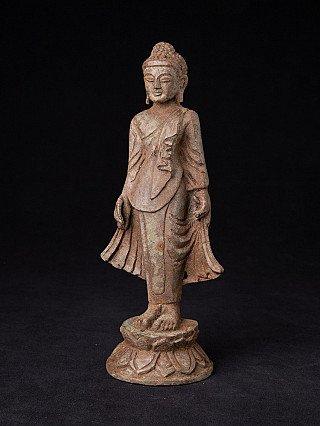 Old bronze Mandalay Buddha statue