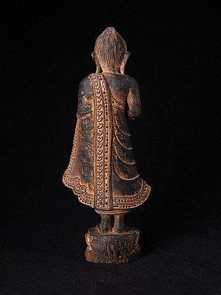 Oud houden Boeddhabeeld