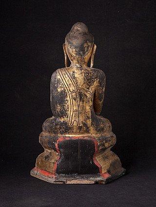 Antike Birmanische Shan Buddha Figur