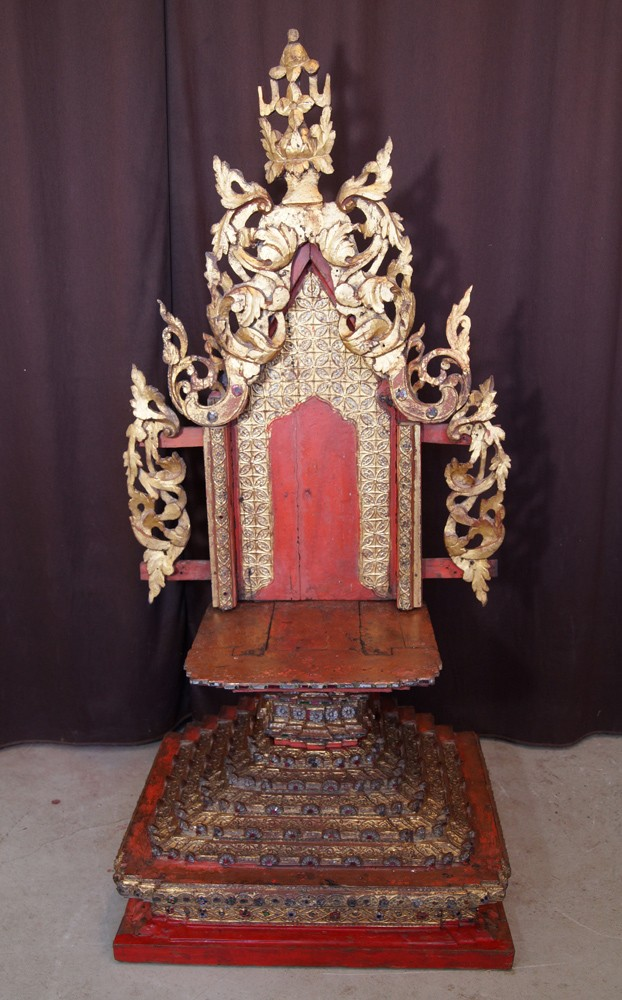 Antique Shan Throne from Burma