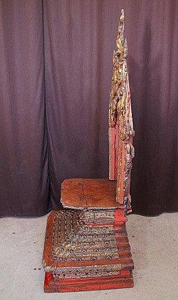 Antique Shan Throne