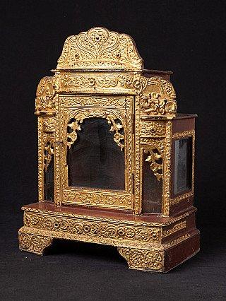 Antique Burmese shrine