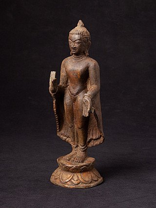 Old bronze Bagan Buddha statue