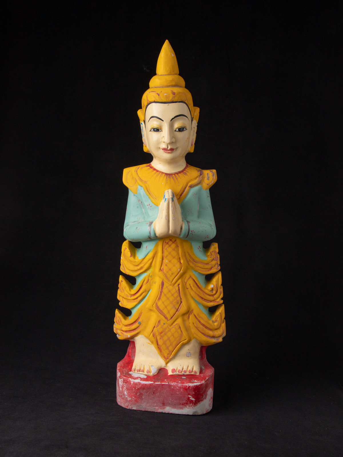 Old Burmese Nat statue from Burma